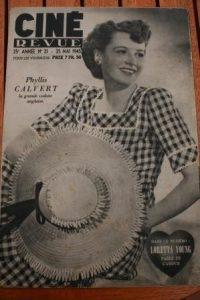 1945 Phyllis Calvert John Boles Loretta Young