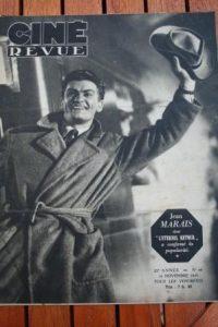 1945 Jean Marais Angela Lansbury Merle Oberon Joyeux