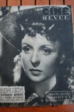1945 Odette Joyeux Gary Cooper Katharine Hepburn Bogart