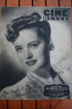 1945 Alexis Smith Van Johnson Donna Reed Linda Darnell