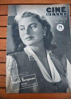 46 Ingrid Bergman Gary Cooper Errol Flynn Jean Simmons