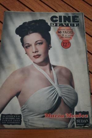 Maria Montez Ingrid Bergman Susan Hayward Laurel Hardy