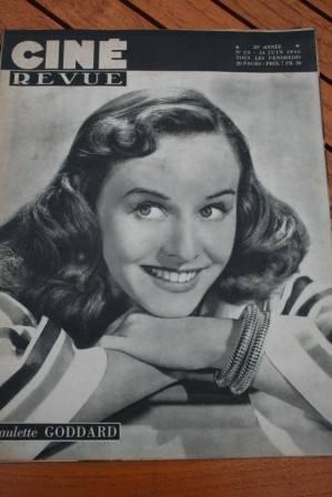 Paulette Goddard Hurd Hatfield Madeleine Carroll Hitler