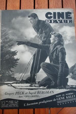 Gregory Peck Ingrid Bergman Betty Grable Gene Kelly
