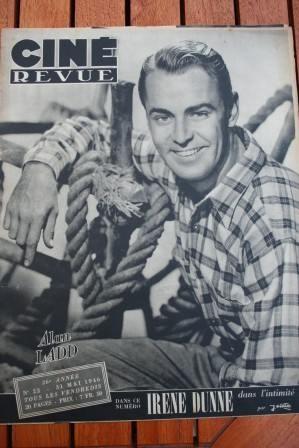 1946 Alan Ladd Irene Dunne Gene Tierney Lauren Bacall