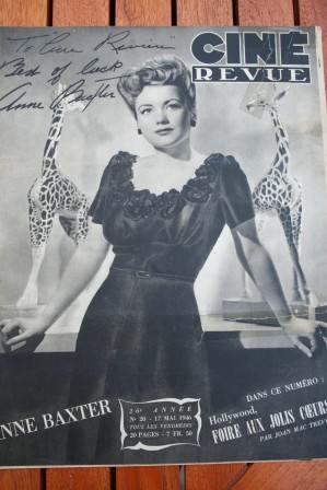 1946 Anne Baxter Lucille Ball Sabu Linda Darnell Bogart