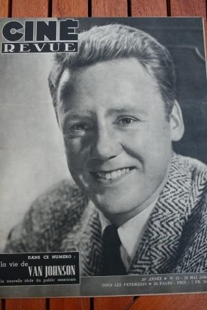 1946 Van Johnson Gene Tierney Rod Cameron Lana Turner
