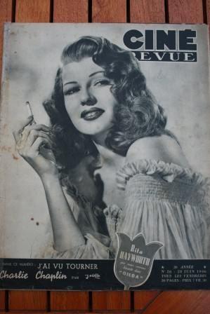 1946 Rita Hayworth Gig Young Robert Alda Joan Leslie