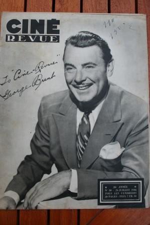 46 George Brent Yvonne De Carlo Al Johnson Lucille Ball