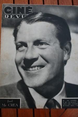 1946 Joel Mc Crea Virginian Myrna Loy Joan Leslie Dary