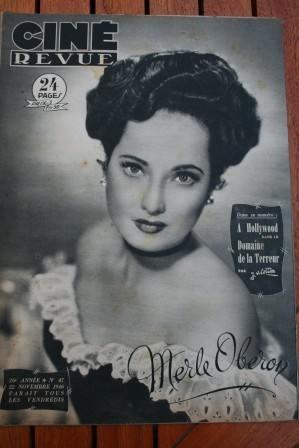 1946 Merle Oberon Ava Gardner Donna Reed Ingrid Bergman