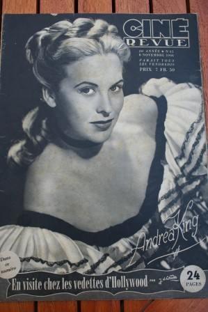 46 Andrea King Rex Harrison Bette Davis Ingrid Bergman