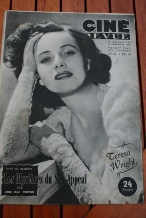 46 Teresa Wright Alan Ladd Veronica Lake Ingrid Bergman
