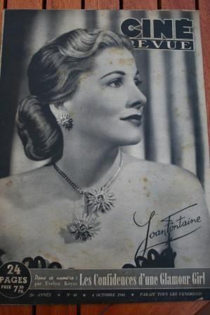 Joan Fontaine Robert Hutton Errol Flynn Ingrid Bergman