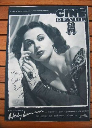 1947 Hedy Lamarr Dana Andrews Jane Wyatt John Loder