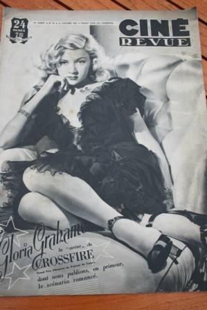 Gloria Grahame Ronald Colman Robert Mitchum Joan Leslie