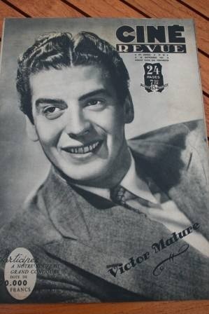 47 Victor Mature Evelyn Keyes Bruce Bennett Jean Marais