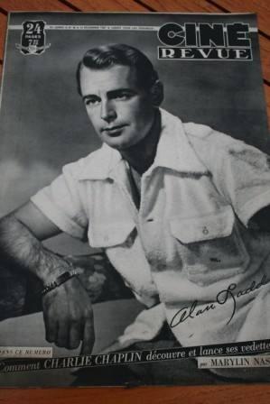 Alan Ladd Jean Peters Gene Tierney Myrna Loy Darrieux