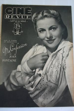 Joan Fontaine Abbott Costello Glenn Ford Melvyn Douglas