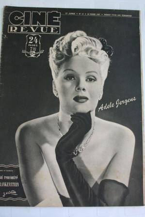 47 Adele Jergens Boris Karloff Cary Grant Vera Ralston