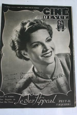 Annabella Celia Johnson Alice Faye Betty Grable Boyer