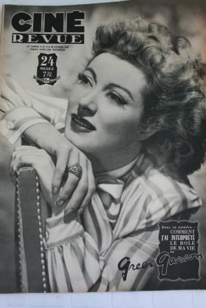 1947 Greer Garson Orson Welles Bette Davis Paul Henreid