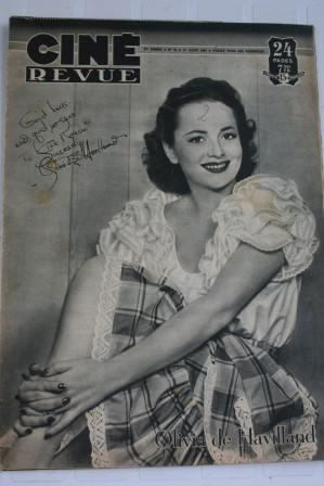 Olivia De Havilland Negulesco Deanna Durbin Vera Ellen