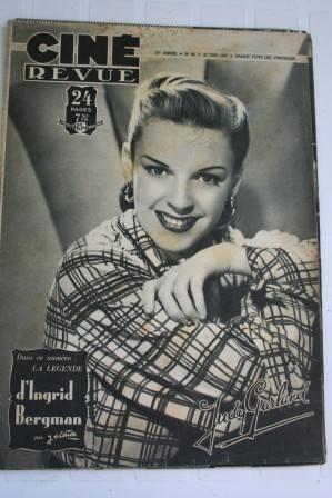 Judy Garland Ingrid Bergman Robert Walker Joan Fontaine