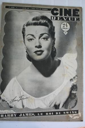 1947 Lana Turner Jennifer Jones Martha Hyer Isa Miranda