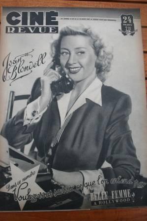 47 Joan Blondell Jean Peters Sylvia Sydney Robert Young