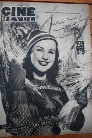 47 Deanna Durbin Cary Grant Charles Boyer Kathleen Ryan