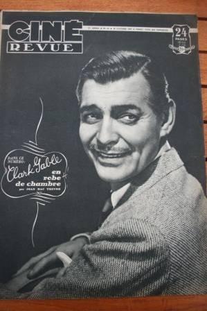 1947 Clark Gable Janis Carter Tyrone Power Gene Tierney