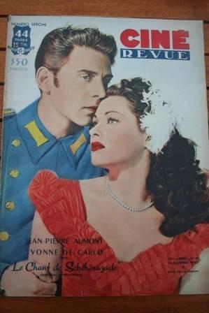 1947 Yvonne De Carlo Maria Montez Norma Shearer Bambi