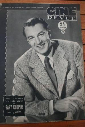 1947 Gary Cooper Shirley Temple George Raft Ida Lupino