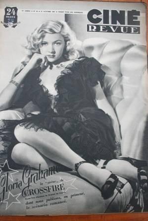 1947 Gloria Grahame Danielle Darrieux Humphrey Bogart