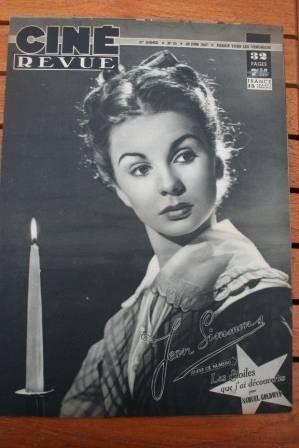 1947 Jean Simmons Maria Montez Joan Crawfor Jean Marais