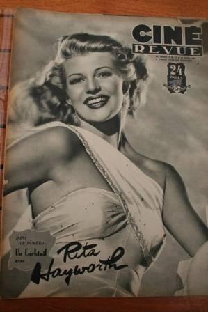 47 Rita Hayworth Danielle Darrieux John Ford Fernandel