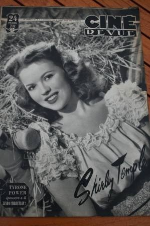 1948 Shirley Temple Bob Hope Tyrone Power John Wayne