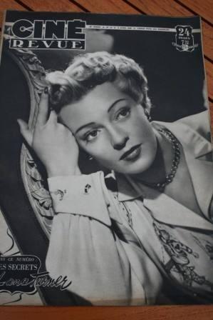 48 Lana Turner Cornel Wilde Linda Darnell Joan Bennett