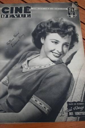 1948 Laraine Day John Wayne Albert Prejean Jean Simmons