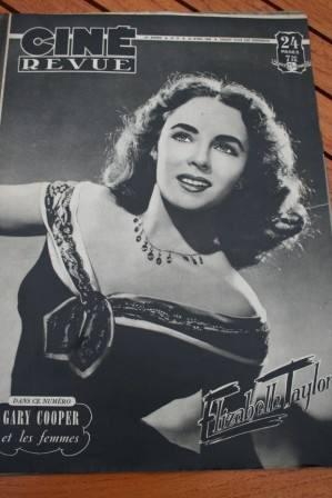 1948 Liz Taylor Cesar Romero Cary Grant Stewart Granger