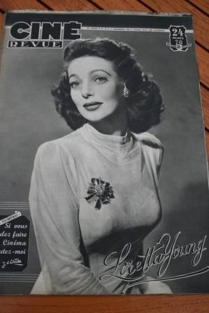48 Loretta Young Yvonne De Carlo Cary Grant Lila Leeds