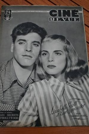 1948 Burt Lancaster Lizabeth Scott Mark Stevens Sabu