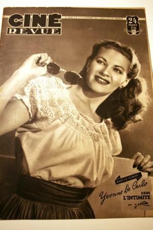 1948 Yvonne De Carlo Jean Arthur Olga San Juan Guetary