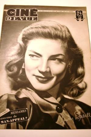 48 Lauren Bacall Humphrey Bogart Fredric March Sinatra