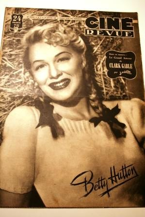 1948 Betty Hutton Montalban Clark Gable Dorothy Lamour