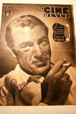 1948 Gary Cooper Rita Hayworth Ava Gardner Jean Marais