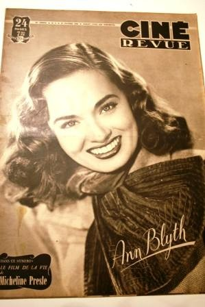 48 Ann Blyth Burt Lancaster Ginger Rogers Ronald Colman