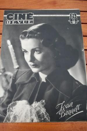 Joan Bennett Cornel Wilde Fernandel Tarzan Bing Crosby