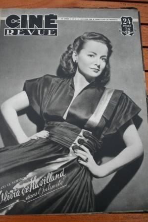 1948 Olivia De Havilland William Powell Betty Grable